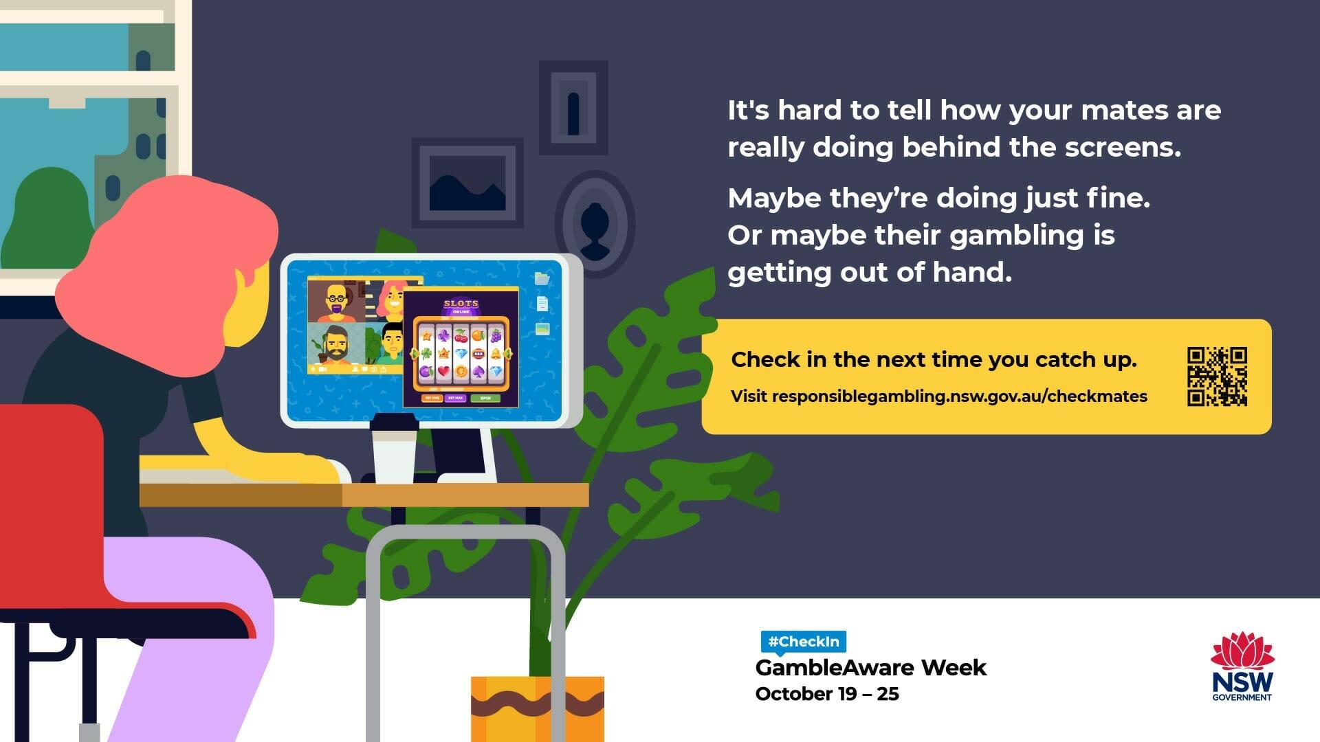 Gamble Aware media campaign